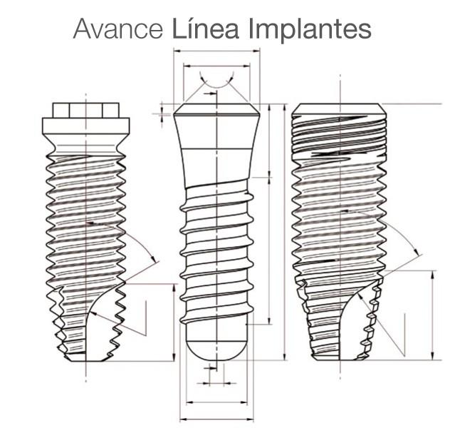 Avance línea implantes