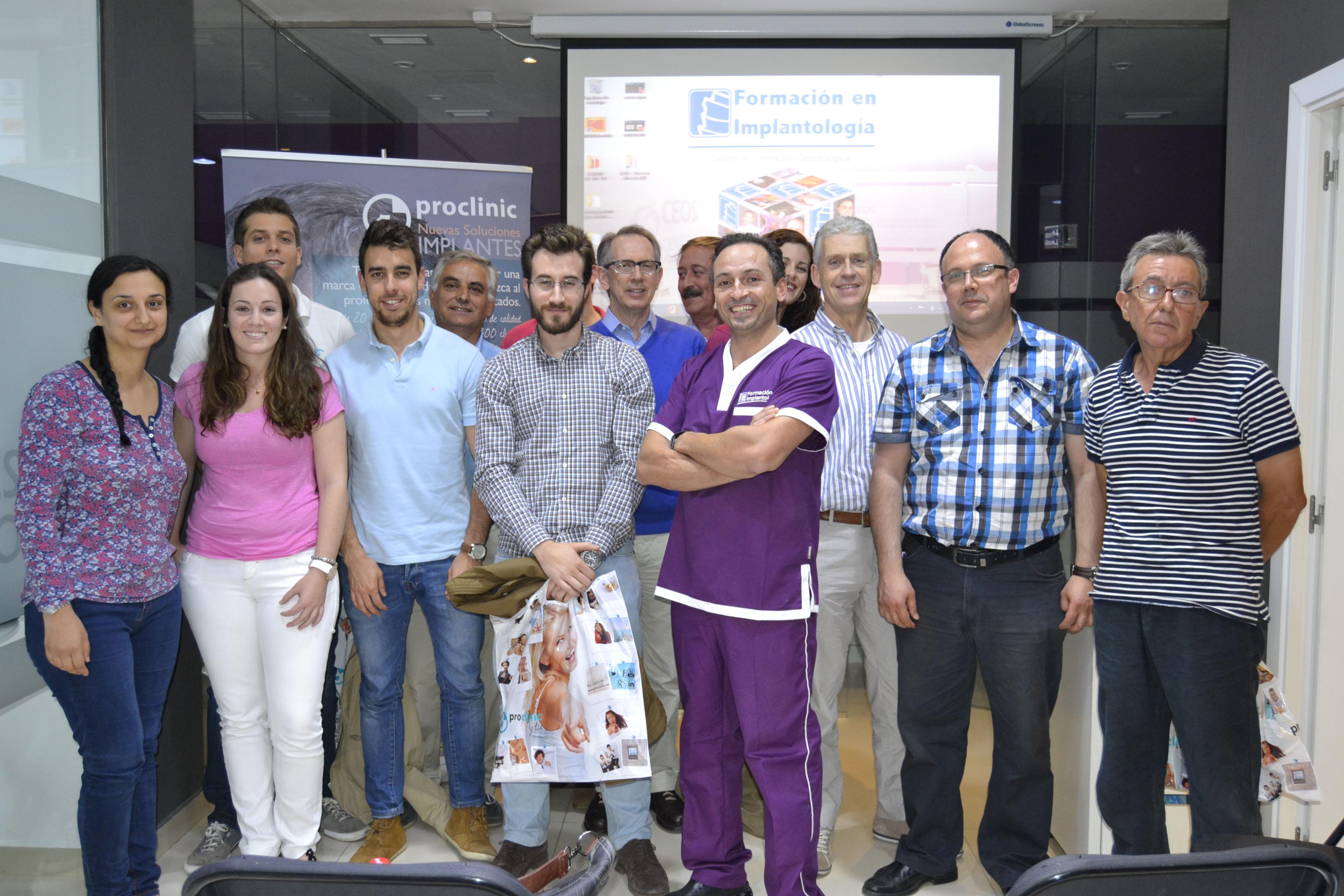 Formación en implantología Proclinic