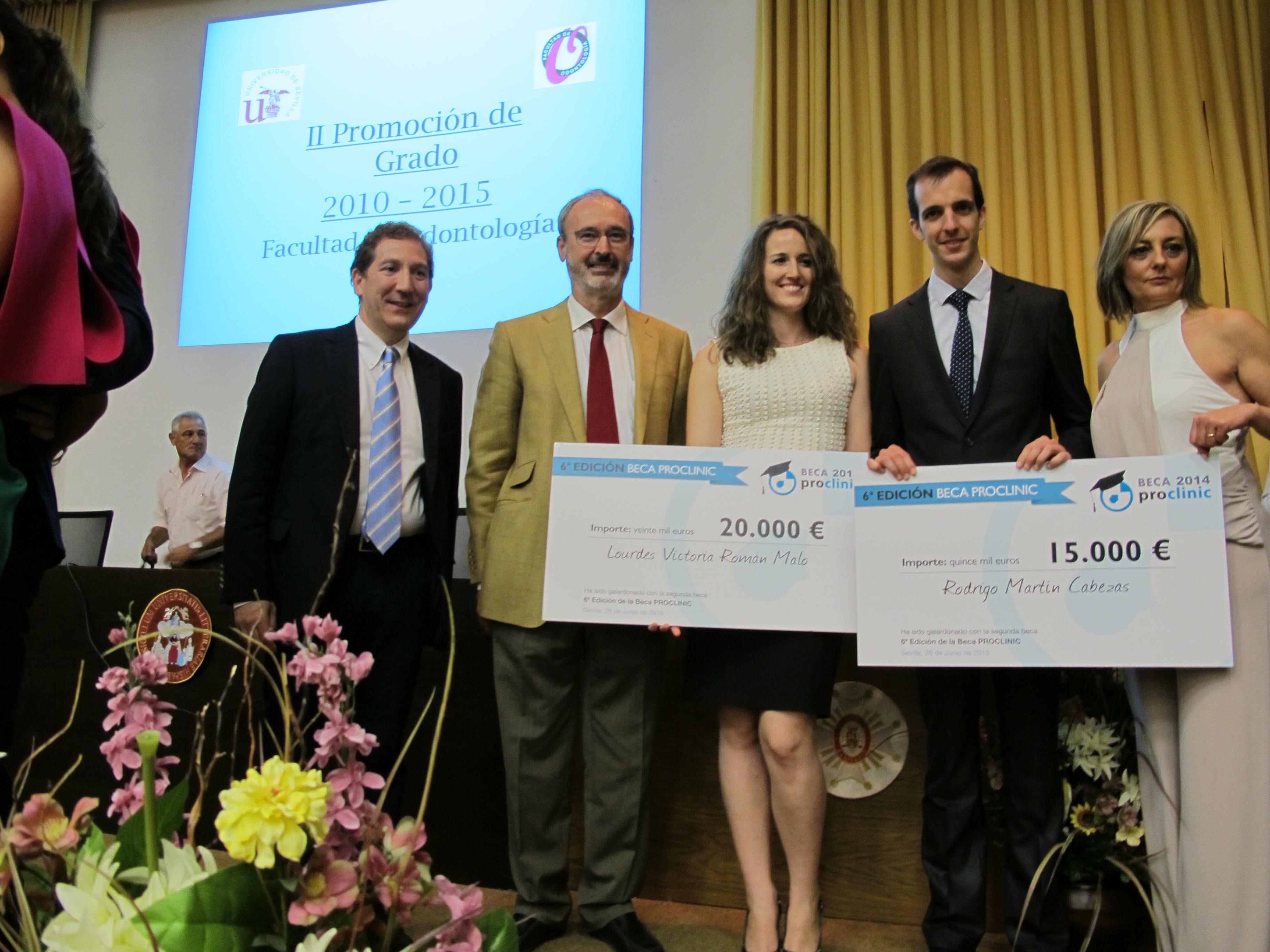 Ganadores 6ª Edición Beca Proclinic