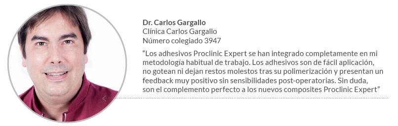 Dr. Gargallo Adhesivos Proclinic