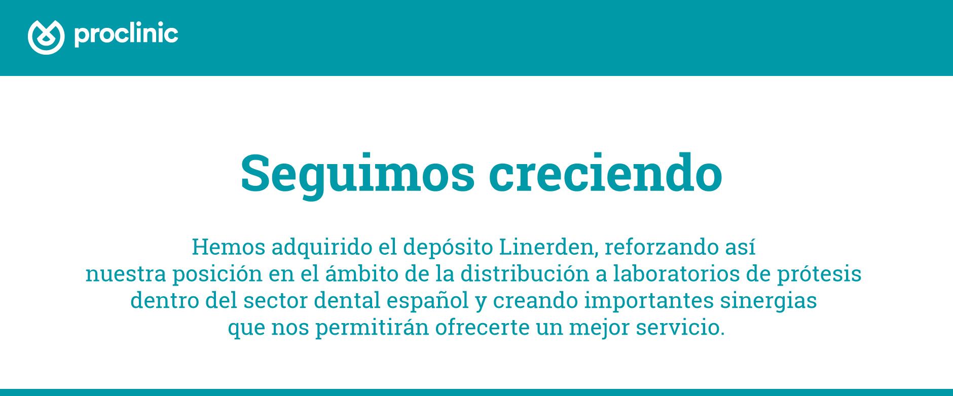 Linerden y Proclinic
