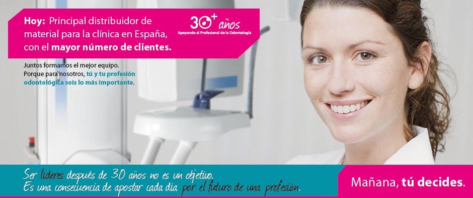 Principal distribuidor de material para la clínica